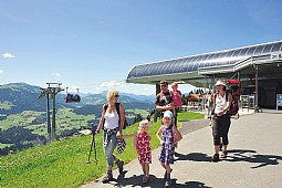 """Active in the mountains"" - The SkiWelt Panoramic Path"
