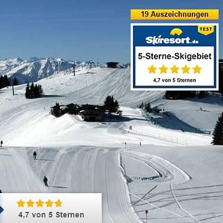 Award as 5 Star Skiing area