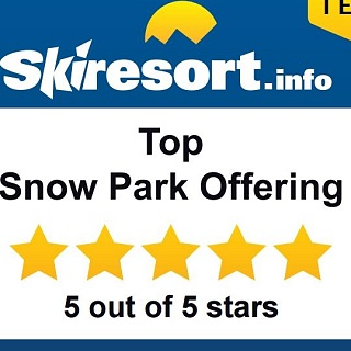 Award: Top Snow Park