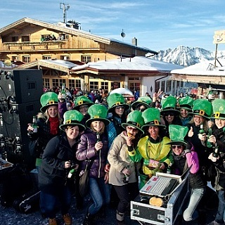 St. Patrick's Day at the SkiWelt