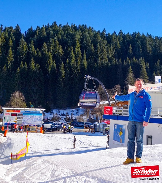 NEW: 10er XLarge gondola at SkiWelt Ellmau