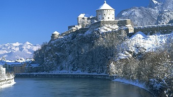 Kufstein in winter