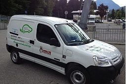 Electric company vehicle