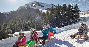 Rodelspaß in der SkiWelt Ellmau und SkiWelt Söll