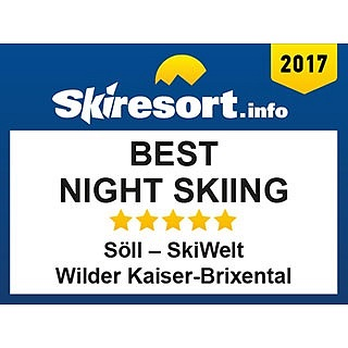 Award: Best night skiing Söll