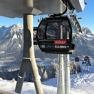 Contact lift operator Ellmau