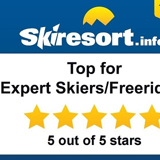 Award: Top for Expert Skiers and Freeriders
