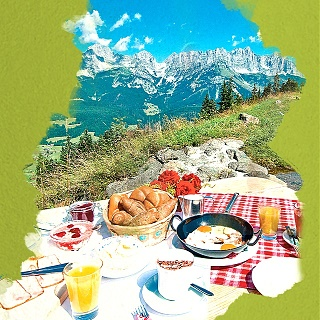 Breakfast on the Mountain