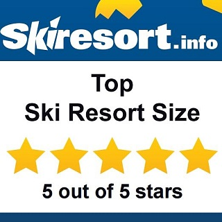 Award: Top Ski Resort Size