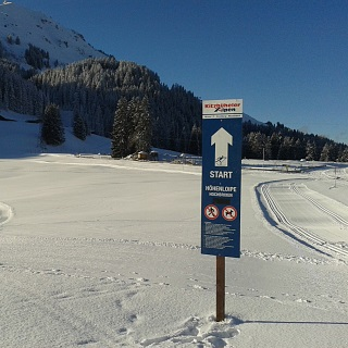 Cross-country skiing with the SkiWelt lifts