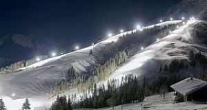 Largest night ski resort in Austria!