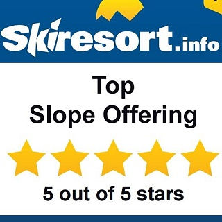 Award: Top Slope Offering and Run Variety