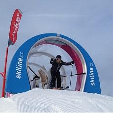 Ski Movie Piste - Mini Cross Line