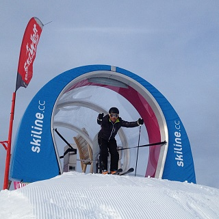 Ski Movie Piste - Mini Cross Line