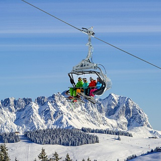 27 million for investment in even more comfort and perfect slopes at the SkiWelt!