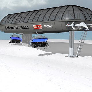 NEW: 6-seater Schernthannbahn at SkiWelt Hopfgarten