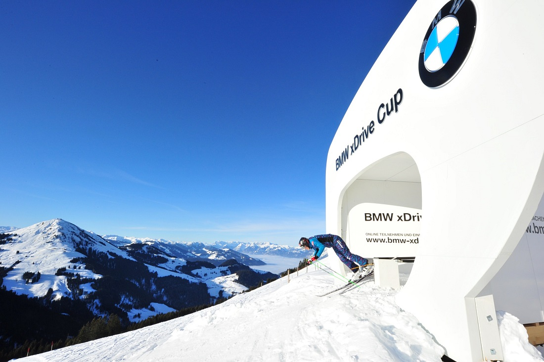 BMW Ski Movie Strecke - SkiWelt Scheffau