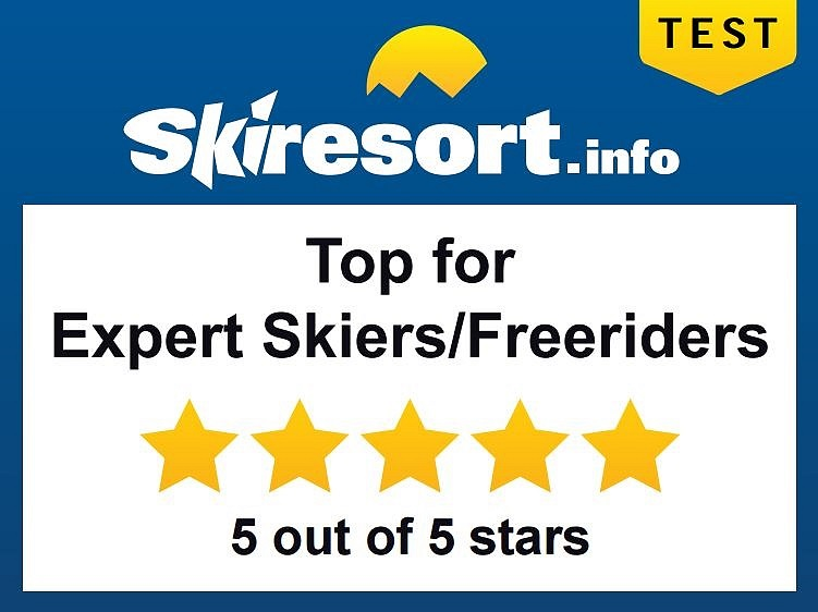 Top for Expert Skiers and Freeriders