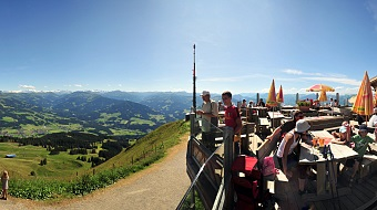 Great view from the Hohe Salve