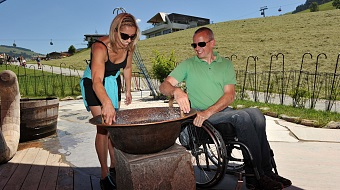 Hexenwasser Söll accessible via wheel chair