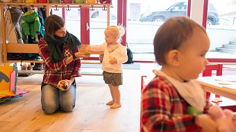 Child care service in Brixen im Thale