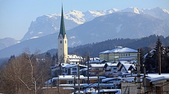 Kirchbichl in winter