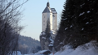 Mariastein in winter